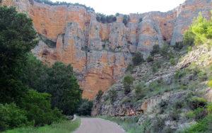 Desfiladero del río Mesa