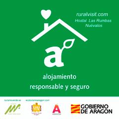 Ruralvisit.com - Hostal Las Rumbas es un alojamiento responsable y seguro